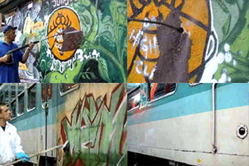 Graffiti Removal System